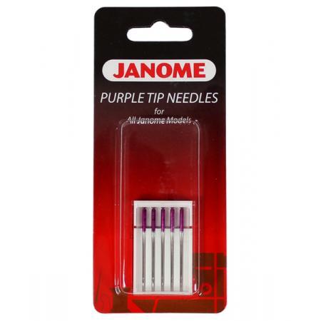 Igły Janome Purple Tip z kulką (5x90), fig. 1