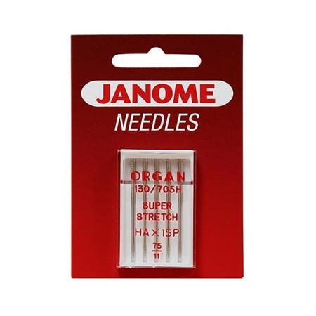 Igły Janome z kulką do dzianin i materiałów elastycznych, fig. 1