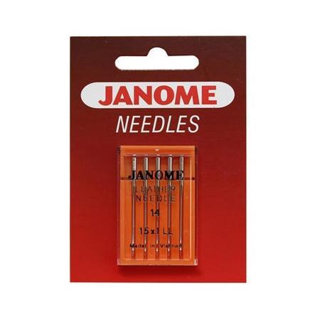 Igły do maszyn do szycia 130/705H do skóry Janome (różne grubości), fig. 1
