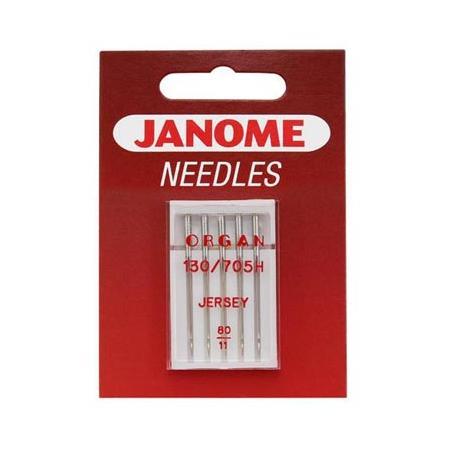 Igły do maszyn do szycia dzianin i materiałów elastycznych 130/705H JANOME, fig. 1